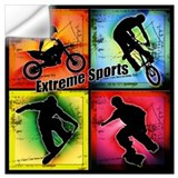 Extreme sports Wall Decals