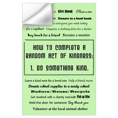 Random Acts of Kindness Wall Decal