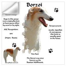 Borzoi 1 Wall Decal