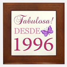 Fabuloso! Desde 1996 Framed Tile