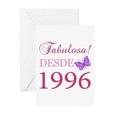 Fabuloso! Desde 1996 Greeting Card