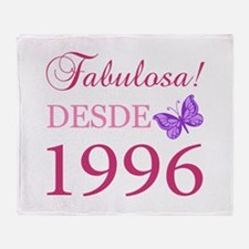 Fabuloso! Desde 1996 Throw Blanket