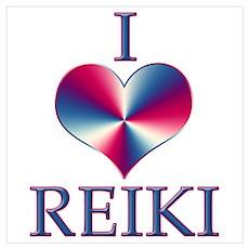 I LOVE REIKI Poster