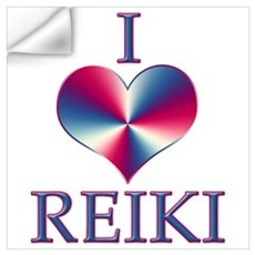 I LOVE REIKI Wall Decal