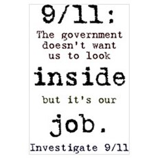 9/11: It's up to us Poster