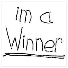 Winner! Light Poster