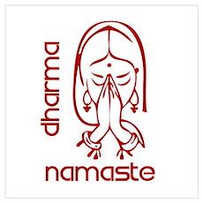 dharma namaste Poster