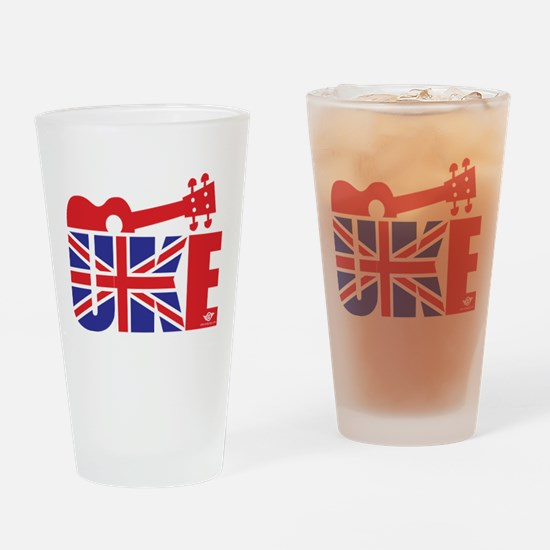 UK-E Ukulele Drinking Glass