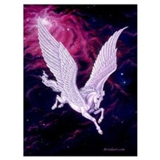 Space Pegasus ~ Canvas Art