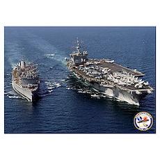 USS Enterprise CVN-65 Poster