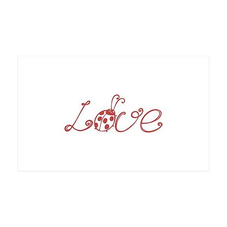 Love 38.5 x 24.5 Wall Peel