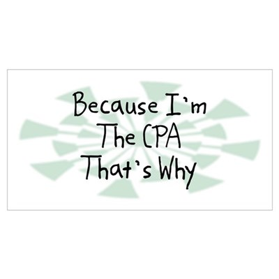 Because CPA Poster