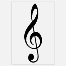 Trad Basic Black Treble Clef