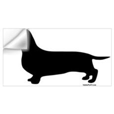 Dachshund Silhouette Wall Decal