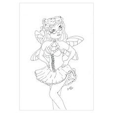 Sassy Steampunk Fairy Poster