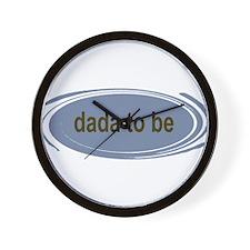 Dada To Be Wall Clock