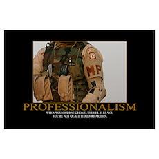 Professionalism Motivational Poster