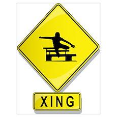 Hurdler XING Poster