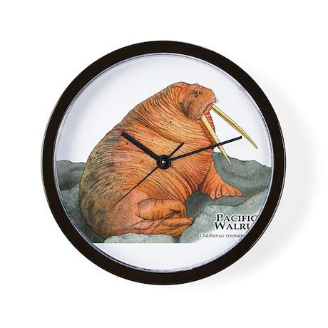 Pacific Walrus Wall Clock