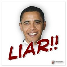 Obama liar Poster