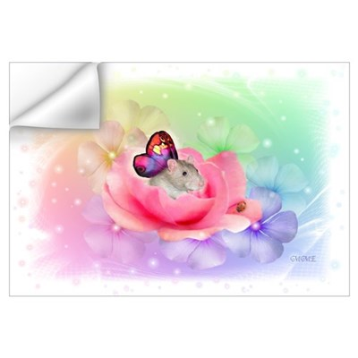 Rat Fairy Wall Decal