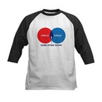 Circles Kids Baseball Jersey