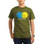 Circles Organic Men's T-Shirt (dark)