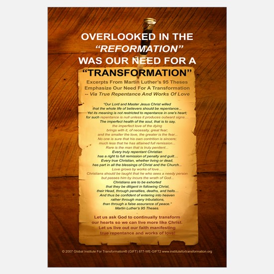 """Overlooked In The """"Reformation"""""""
