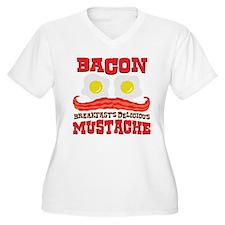 Bacon Mustache T-Shirt