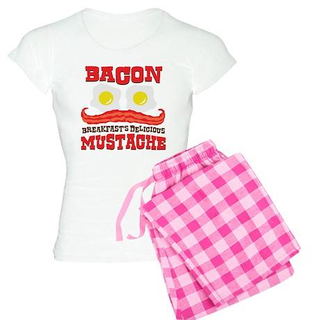 Bacon Mustache Women's Light Pajamas