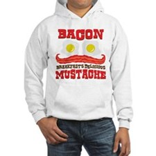 Bacon Mustache Hoodie
