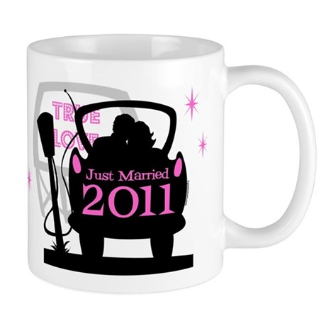 Drive In Newlyweds 2011 Mug