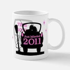 Drive In Newlyweds 2011 Mug