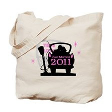 Drive In Newlyweds 2011 Tote Bag