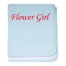 Flower Girl baby blanket