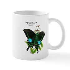 Paris Peacock Butterfly Mug