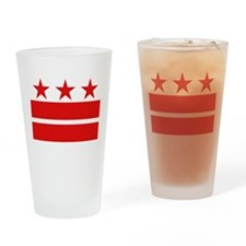 3 Stars 2 Bars Drinking Glass