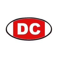 DC (Red and White) Patches