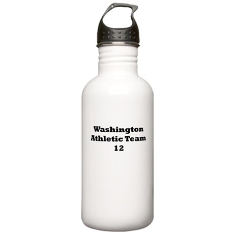 Washington Athletic Team Stainless Water Bottle 1.