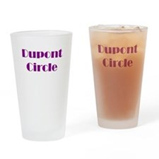 Dupont Circle Drinking Glass