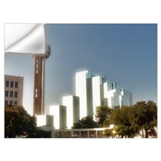 Dallas Reunion Tower Wall Decal