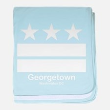 Georgetown Washington DC baby blanket