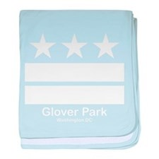 Glover Park Washington DC baby blanket