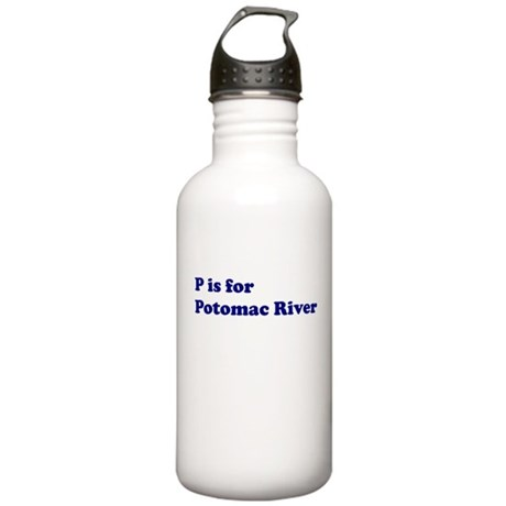 P is for Potomac River Stainless Water Bottle 1.0L