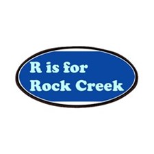 R is for Rock Creek Patches