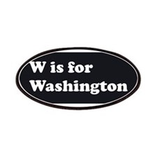 W is for Washington Patches