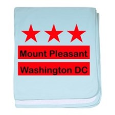Mount Pleasant baby blanket