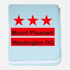 Mount Pleasant baby blanket