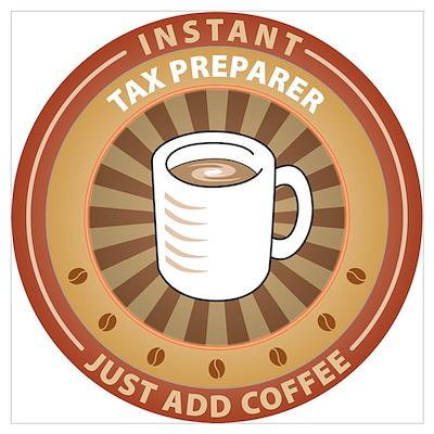 Instant Tax Preparer Poster