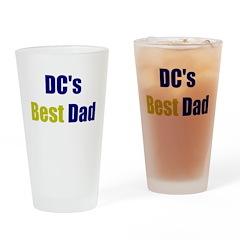 DC's Best Dad Drinking Glass
